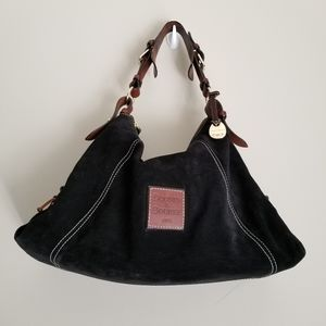 Dooney and Bourke  Suede East West Slouch  bag
